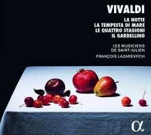 """Antonio Vivaldi (1678-1741): Concerti op.8 Nr.1-4 """"Die 4 Jahreszeiten"""" (arrangiert für Flöte & Streicher), CD"""
