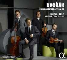 Antonin Dvorak (1841-1904): Klavierquartette Nr.1 & 2 (opp.23 & 87), CD