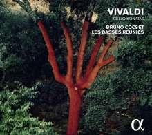 Antonio Vivaldi (1678-1741): Sonaten für Cello & Bc RV 39,40,42-44,46, CD