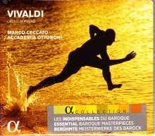 Antonio Vivaldi (1678-1741): Sonaten für Cello & Bc RV 39-43,46, CD