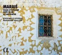 Marin Marais (1656-1728): Les Folies D'Espagne, CD