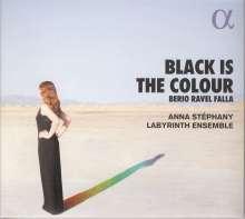 Anna Stephany - Black Is The Colour, CD