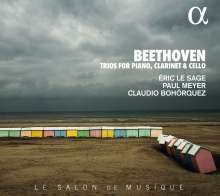 Ludwig van Beethoven (1770-1827): Klarinettentrios opp.11 & 38, CD