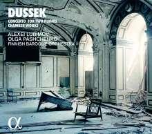 Johann Ludwig Dussek (1760-1812): Konzert für 2 Klaviere & Orchester op.63, CD