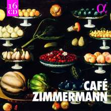 Cafe Zimmermann - Alpha Recordings, 16 CDs