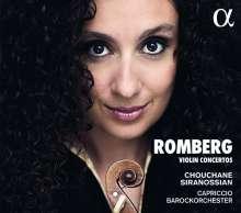 Andreas Romberg (1767-1821): Violinkonzerte Nr.4,9,12, CD