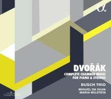 Antonin Dvorak (1841-1904): Sämtliche Kammermusik für Klavier & Streicher, 4 CDs