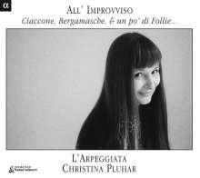 All'Improvviso - Ciaccone,Bergamasche & un po' di Follie, CD