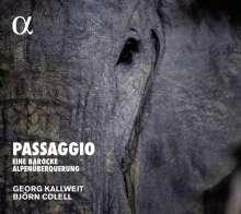 Passagio - Eine Barocke Alpenüberquerung (Musik für Violine & Laute/Chitarrone/Gitarre), CD
