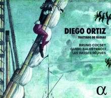 Diego Ortiz (1510-1558): Recercadas del Trattado de Glosas 1553, CD