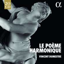 Le Poeme Harmonique & Vincent Dumestre - Alpha Recordings, 20 CDs