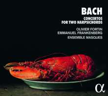 Johann Sebastian Bach (1685-1750): Cembalokonzerte BWV 1060-1062, CD