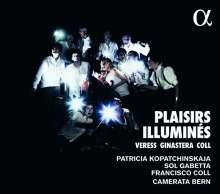"Francisco Coll (geb. 1985): Konzert für Violine,Cello,Kammerorchester ""Les Plaisirs illumines"", CD"