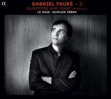 Gabriel Faure (1845-1924): Kammermusik 3 - Klavierquintette, CD