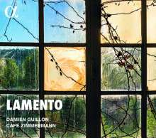Damien Guillon - Lamento, CD