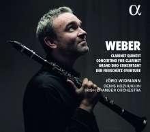 Carl Maria von Weber (1786-1826): Concertino für Klarinette & Orchester Es-Dur op.26, CD