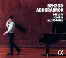 Behzod Abduraimov - Debussy/Chopin/Mussorgsky, CD