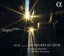 Joseph Haydn (1732-1809): Haydn-Symphonien-Edition 2032 Vol. 10 - Les Heures du Jour, CD