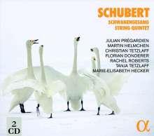 Franz Schubert (1797-1828): Schwanengesang D.957, 2 CDs