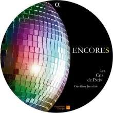 Les Cris de Paris - Encores, CD