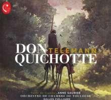 """Georg Philipp Telemann (1681-1767): Suite """"Don Quichotte"""", CD"""