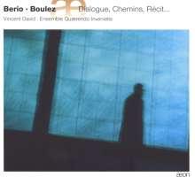 Luciano Berio (1925-2003): Kammermusik mit Saxophon, CD