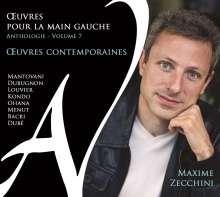 """Klavierwerke für die linke Hand """"Oeuvres Pour la Main Gauche"""" - Anthologie Vol.7, CD"""