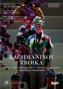 Sergej Rachmaninoff (1873-1943): Troika - Die drei Opern, 2 DVDs