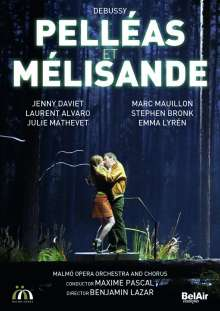 Claude Debussy (1862-1918): Pelleas und Melisande, 2 DVDs