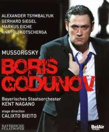Modest Mussorgsky (1839-1881): Boris Godunow, Blu-ray Disc