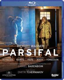 Richard Wagner (1813-1883): Parsifal, Blu-ray Disc