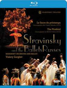Igor Strawinsky (1882-1971): Strawinsky and the Ballets Russes, Blu-ray Disc