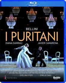Vincenzo Bellini (1801-1835): I Puritani, Blu-ray Disc
