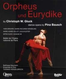 Christoph Willibald Gluck (1714-1787): Orpheus & Eurydike (in dt.Spr./Tanzoper von Pina Bausch), Blu-ray Disc