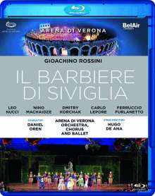 Gioacchino Rossini (1792-1868): Der Barbier von Sevilla, Blu-ray Disc