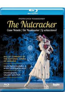 Ballet Company of the National Opera of Ukraine - Der Nußknacker, Blu-ray Disc