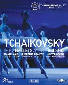 Bolshoi Ballett: Tschaikowsky, 3 Blu-ray Discs