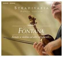 Giovanni Battista Fontana (1571-1631): Sonaten Nr.1-9, CD