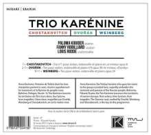 Trio Karenine - Schostakowitsch / Dvorak / Weinberg, CD