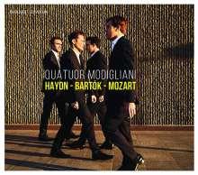 Quatuor Modigliani - Haydn / Bartok / Mozart, CD