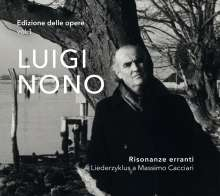 Luigi Nono (1924-1990): Risonanze erranti (Liederzyklus), Super Audio CD