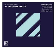 "Johann Sebastian Bach (1685-1750): Triosonaten ""The Trio Sonata Project"", CD"