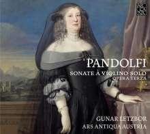 Giovanni Antonio Pandolfi Mealli (1629-1679): Violinsonaten op.3 Nr.1-6, CD