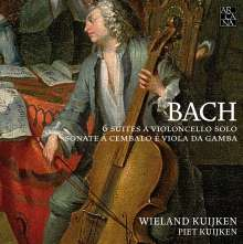 Johann Sebastian Bach (1685-1750): Cellosuiten BWV 1007-1012, 3 CDs