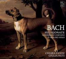 Johann Sebastian Bach (1685-1750): Sonaten für Violine & Cembalo BWV 1014-1017, 2 CDs