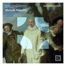 Michele Mascitti (1664-1760): Sonaten für Violine & Bc op.9 Nr.1-3, 5-7, 9,12, CD