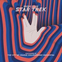 The City Of Prague Philharmonic Orchestra: Filmmusik: Music From Star Trek (Limited Numbered Edition), 2 LPs