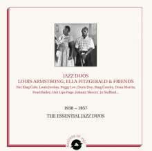 Louis Armstrong & Ella Fitzgerald: The Essential Jazz Duos 1938-1957 (Limited Numbered Edition), 2 LPs