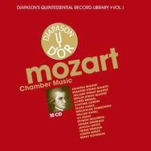 Wolfgang Amadeus Mozart (1756-1791): Kammermusik, 10 CDs