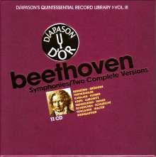 Ludwig van Beethoven (1770-1827): Symphonien Nr.1-9, 11 CDs